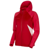Mammut Women's Avers ML Hooded Jacket - Small - Dragon Fruit / Scooter