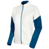 Mammut Women's Logo ML Jacket - Small - Highway / Sapphire Melange