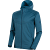 Mammut Men's Nair Midlayer Hooded Jacket - XL - Sapphire Melange