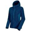 Mammut Women's Yadkin ML Hooded Jacket - Large - Sapphire Melange / Sapphire