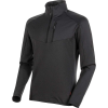 Mammut Men's Nair ML Half Zip Pullover - XXL - Black MTlange