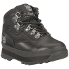 Timberland Toddlers' Euro Hiker Leather and Fabric Boot - 12 - Black Full-Grain / Fabric