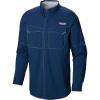 Columbia Men's Low Drag Offshore LS Shirt - Large - Carbon