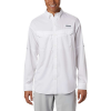 Columbia Men's Low Drag Offshore LS Shirt - XS - White