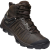 Keen Men's Venture Mid Leather WP Boot - 7.5 - Mulch / Black