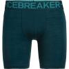 Icebreaker Men's Anatomica Zone Long Boxers - XXL - Nightfall / Blue Spruce