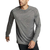 Eddie Bauer Motion Men's Resolution LS Tee - 3XL - Heather Gray