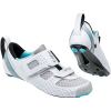 Louis Garneau Women's Tri X-Lite II Shoe - 39 - Blanc / Bleu Poisson