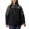 Columbia Women's Evolution Valley II Jacket - 1X - Black / Charcoal Heather