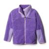 Columbia Youth Winter Pass Sherpa Full Zip Jacket - Large - Grape Gum/Paisley Purple