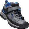 Keen Kids' Targhee Low Shoe - 10 - Steel Grey / Baleine Blue