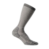 Icebreaker Men's Mountaineer Expedition Mid Calf Sock - Small - Natural / Monsoon Heather