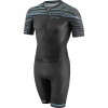 Louis Garneau Men's Course LGneer Skin Suit - XXL - Black / Blue / Green