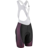 Louis Garneau Women's CB Carbon Lazer Bib Short - XXL - Black / Shiraz