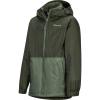 Marmot Boys' PreCip Eco Component Jacket - XL - Rosin Green / Crocodile