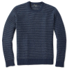 Smartwool Men's Ripple Ridge Tick Stitch Crew Sweater - Large - Deep Navy Heather