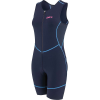 Louis Garneau Women's Tri Comp Suit - Large - Navy / Blue / Pink