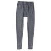 Smartwool Men's Merino 250 Baselayer Pattern Bottom - Large - Medium Gray Tick Stitch