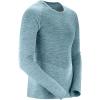 Salomon Men's Allroad Seamless LS Tee - XL - Smoke Blue / Balsam Green