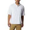 Columbia Men's Perfect Cast Polo Shirt - 4XT - White