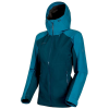 Mammut Women's Convey Tour HS Hooded Jacket - Large - Wing Teal / Sapphire