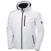 Helly Hansen Men's Crew Hooded Midlayer Jacket - Large - White