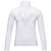 Rossignol Women's Classique Roll Neck Sweater - Large - White