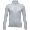 Rossignol Women's Classique Roll Neck Sweater - Small - Light Grey