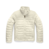 The North Face Girls' Reversible Mossbud Swirl Jacket - XL - Vintage White