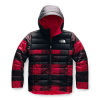 The North Face Boys' Reversible Perrito Jacket - XL - TNF Red Buff Check Print