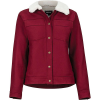 Marmot Women's Ridgefield Sherpa Lined LS Shirt - Medium - Claret