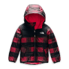 The North Face Toddler Boys' Reversible Perrito Jacket - 3T - TNF Red Mini Buff Check Print