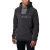 Columbia Men's Columbia Lodge Fleece Hoodie - Medium - Shark/City Grey
