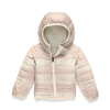 The North Face Infant Reversible Perrito Jacket - 3M - Vintage White Mini Buff Check Print