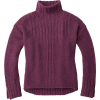 Smartwool Women's Spruce Creek Sweater - Small - Sangria Heather