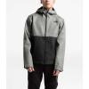 The North Face Men's Millerton Jacket - XXL - Monument Grey Herringbone / TNF Black Dobby