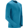 Salomon Men's Explore LS Tee - XL - Lyons Blue