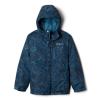 Columbia Toddler Boys' Lightning Lift Jacket - 3T - Blue Heron Crackle Splatter
