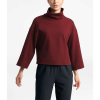The North Face Women's Outerlands Funnel Neck Waffle - XL - Deep Garnet Red