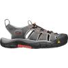 Keen Men's Newport H2 Sandal - 8.5 - Magnet / Nasturtium