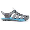 Keen Women's Clearwater CNX Sandal - 5.5 - Gargoyle / Norse Blue