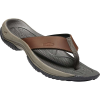 Keen Men's Kona Premium Flip Flop - 7 - Oyster / Raven
