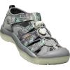 Keen Youth Newport H2 Shoe - 4 - Steel Grey / Glow