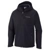 Columbia Men's Ascender Hooded Softshell Jacket - Medium - Black