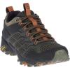 Merrell Men's Moab FST 2 Shoe - 7 - Olive / Adobe