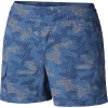 Columbia Women's Silver Ridge Printed Pull On 4 Inch Short - Large - Nocturnal Camo Print