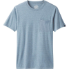 Prana Men's Pocket Tee - XL - Blue Note Heather