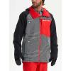 Burton Men's GTX Radial Jacket - XS - Spun Out / True Black / Flame Scarlet