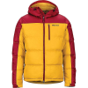 Marmot Men's Guides Down Hoody - Small - Golden Leaf / Brick