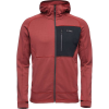 Black Diamond Men's Factor Fleece Hoody - Medium - Red Oxide / Black